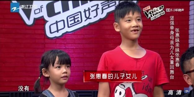 Contestant 3 - Zhang Hui Chun kids