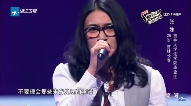 Contestant 2 - Zhang Shu