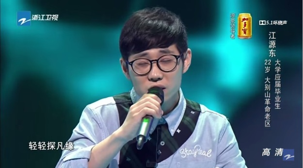 Contestant 8 - Jiang Yuan Dong