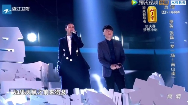 04 Voice of China S4 Ep 13 duet 2 zhang lei