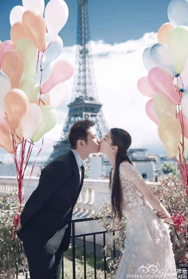 Angelababy and Xiaoming are definitely #couplegoals